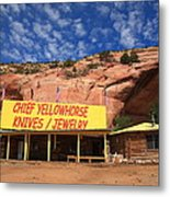 Route 66 Trading Post Metal Print