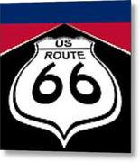 Route 66 - U. S. Metal Print