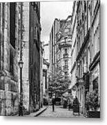 Route Parisian Metal Print