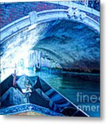 Route To Light Metal Print