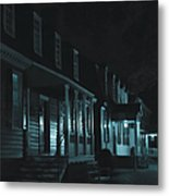 Row Homes Metal Print