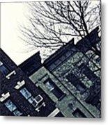 Row Houses In Washington Heights Metal Print