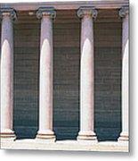 Row Of Columns San Francisco Ca Metal Print