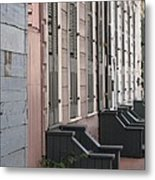 Row Of Houses II Metal Print