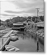 Row Your Own Boat Metal Print