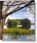 Rowboats At The Lake Metal Print