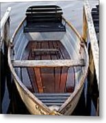 Rowboats At The Schlachtensee Metal Print