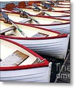 Rowboats Metal Print by Elena Elisseeva