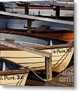 Rownoats At The Schlachtensee Metal Print