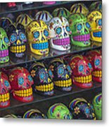 Rows Of Skulls Metal Print