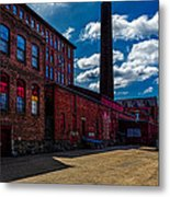 Roy Hill Roy Continental Mill Metal Print by Bob Orsillo