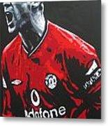 Roy Keane - Manchester United Fc Metal Print