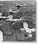 Royal Air Force Formation Metal Print