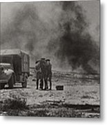 Royal Army Medical Corps Ambulance Metal Print