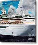 Royal Caribbean Sovereign Of The Seas Metal Print