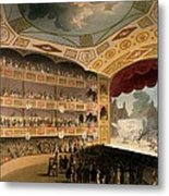 Royal Circus From Ackermanns Repository Metal Print