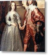 Royal Couple, 1641 Metal Print