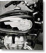 Royal Enfield Motorbike Metal Print