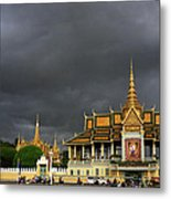 Royal Palace Cambodia Metal Print