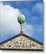 Royal Palace In Amsterdam Architectural Details Metal Print