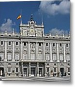 Royal Palace Of Madrid Metal Print