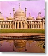 Royal Pavilion In Brighton England Metal Print