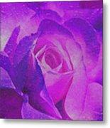 Royal Rose Metal Print