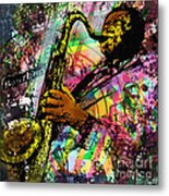 Royal Sonesta Jazz Playhouse Metal Print