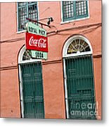 Royal St. Pharmacy Metal Print