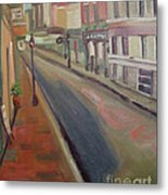 Royal Steet I Metal Print by Lilibeth Andre