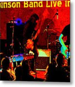 Rrb #47 Crop 2 Enhanced In Cosmicolors With Text Metal Print