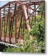 Rt 66 Bridge In Oklahoma Metal Print