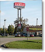 Rt 66 Chenoa Illinois Metal Print