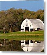 Rt 66 Hay Farm Oklahoma Metal Print