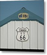 Rt 66 Towanda Plague Metal Print