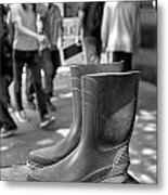 Rubber Boots Metal Print