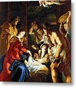 Rubens Adoration Metal Print
