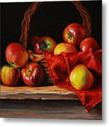 Rubens Apples Metal Print