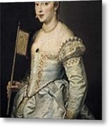 Rubens, Peter Paul 1577-1640. A Woman Metal Print