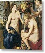 Rubens, Peter Paul 1577-1640. Ceres Metal Print