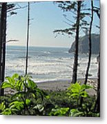Ruby Beach I Metal Print