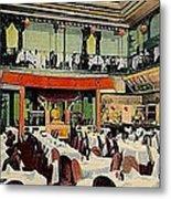 Ruby Foo Den Chinese Restaurant In New York City Metal Print