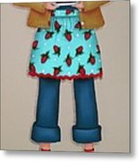Ruby's Red Shoes Metal Print by Catherine Holman