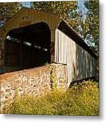 Rudolph Arthur Covered Bridge Metal Print