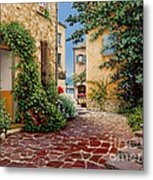 Rue Anette Metal Print by Michael Swanson
