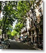 Rue Caulaincourt Montmartre Metal Print