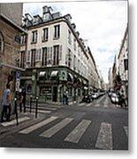 Rue Jacob Paris Metal Print