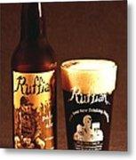 Ruffian Ale Metal Print