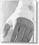 Rugby Hands Metal Print