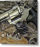 Ruger Security Six Still Life Metal Print